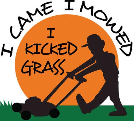 La conception parfaite pour montrer votre service de pelouse et attirer de nouveaux clients. Obtenir ces conceptions de Great notions. Banque d'images - 45172089