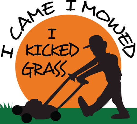 The perfect design to show off your lawn service and bring in new business.  Get these designs from Great Notions.