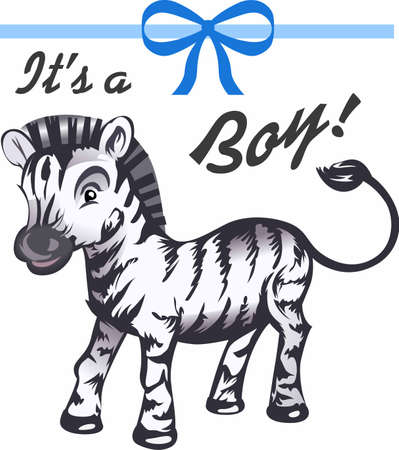 A sweet baby zebra is a perfect addition to babys nursery.  Another whimsical design from Great Notions!