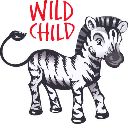 riband: A sweet baby zebra is a perfect addition to babys nursery.  Another whimsical design from Great Notions!