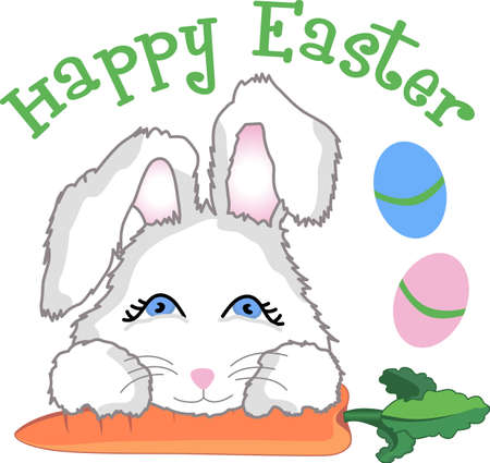 This adorable Easter bunny design is perfect for this spring.   A great design from Great Notions!
