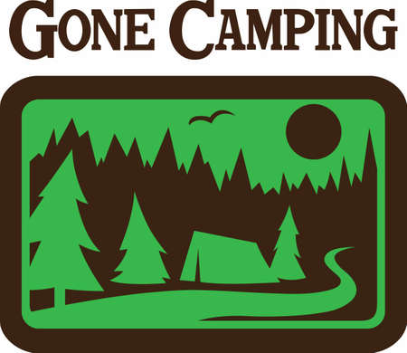 promoting: Camping is natures way of promoting the motel business.