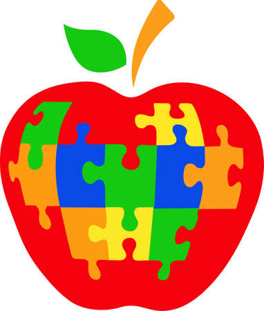 An apple for teacher who has special needs students.
