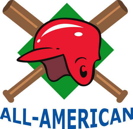 baseball diamond: Te pasas horas so�ando, la pr�ctica de este deporte y jugar en el campo de b�isbol. El b�isbol es vida! Su jugador de b�isbol amar� esto! Vectores