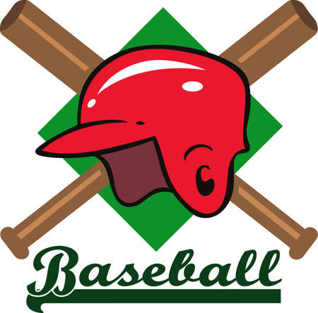 baseball diamond: You spend hours dreaming, practicing the sport and playing on the baseball field.  Baseball is life!  Your baseball player will love this!
