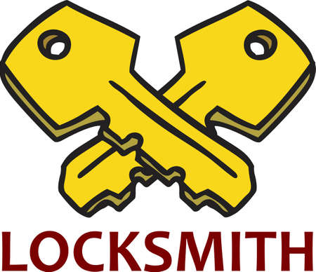 The perfect logo to promote your locksmith business. A neat design from Great Notions.