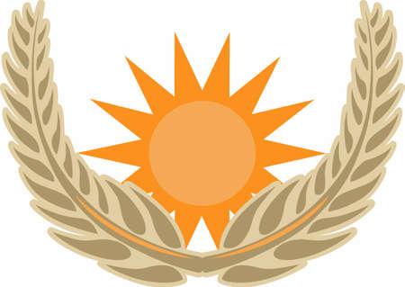 Los agricultores quieren un símbolo de una buena cosecha. Foto de archivo - 45194631