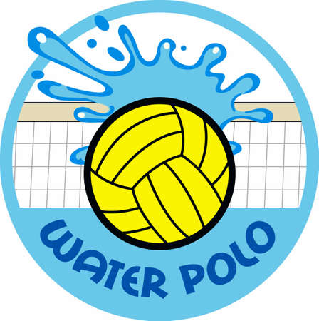 water polo: Water polo players will like this splashing ball.
