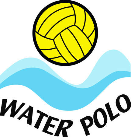 Water polo players will like this splashing ball.
