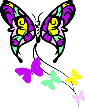 Mothers day is the perfect time to tell mom how much she is appreciated with this beautiful butterfly.  Send her this special design from Great Notions.