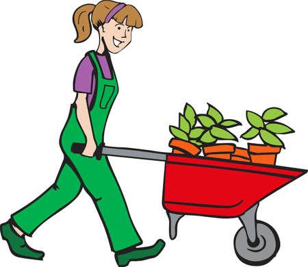 Questo è perfetto per i giardinieri che amano che lavorano nel cantiere in modo che tutti potranno godere i loro fiori. Essi vi piacerà!
