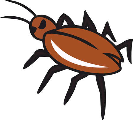 notions: The perfect logo to promote your bug business. A neat design from Great Notions. Illustration