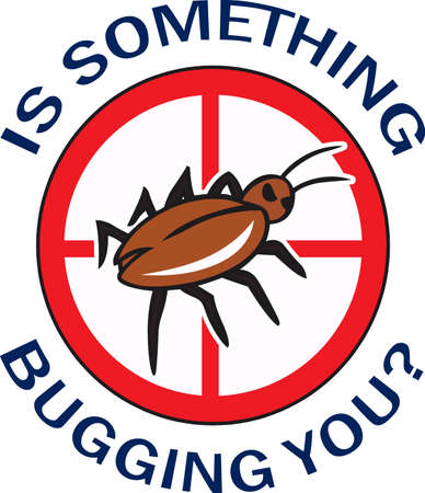 neat: The perfect logo to promote your bug business. A neat design from Great Notions. Illustration