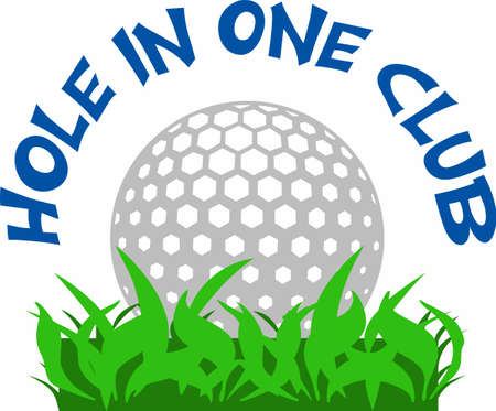 hole in one: Golfers will love a golf ball.
