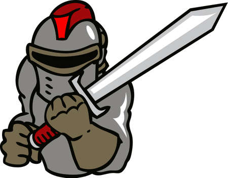 team spirit: Show your team spirit with this knight logo.  Everyone will love it!