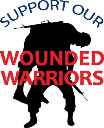 troop: Remember that some give their all for our freedom.  Show support for our troops with this special design.