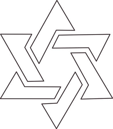 This outline is perfect to add to your custom design for a peace symbol. Ilustrace
