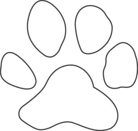 pawprint: Show your team spirit with this Louisiana Tigers.  Everyone will love it!