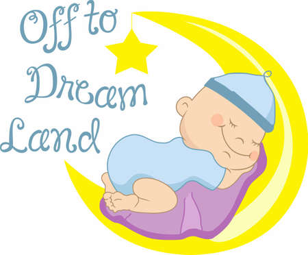 dream land: An adorable baby will accent a nursery decor.