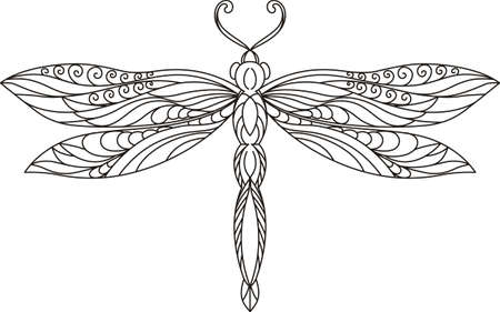 This beautiful dragonfly is perfect to add to your summertime design.  Grab this design from Great Notions.