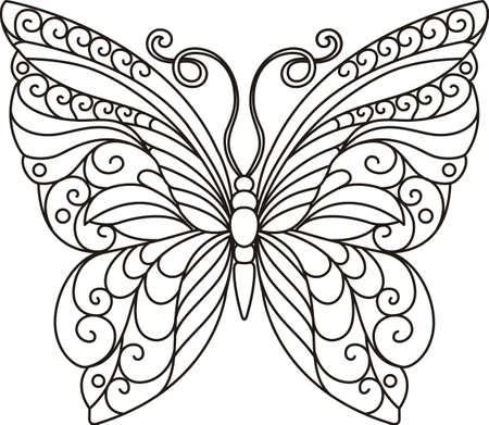 This beautiful butterfly is perfect to add to your summertime design.  Grab this design from Great Notions.
