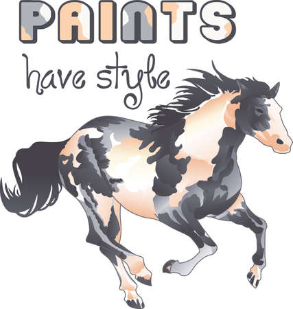 notions: This graceful horse with the wind blowing its mane will be beautiful on a shirt, vest or jacket.  This mustang design from Great Notions is a must have item for horse owners.