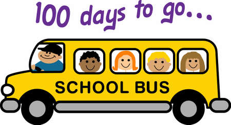days: Send the kids to school in a fun bus.