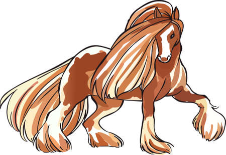 thoroughbred: An elegant clydesdale for horse lovers.