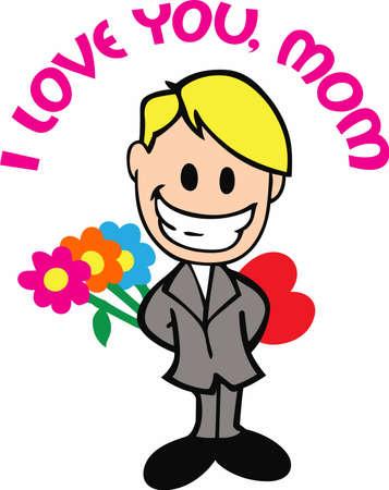 사랑하는 사람에게이 귀여운 만화를 보내서 그들이 얼마나 특별한지를 상기시켜줍니다. 일러스트