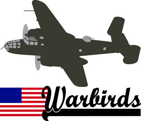 flown: This image features a plane from WWII that is flown at airshows.  This is a perfect design from Great Notions for the next show!