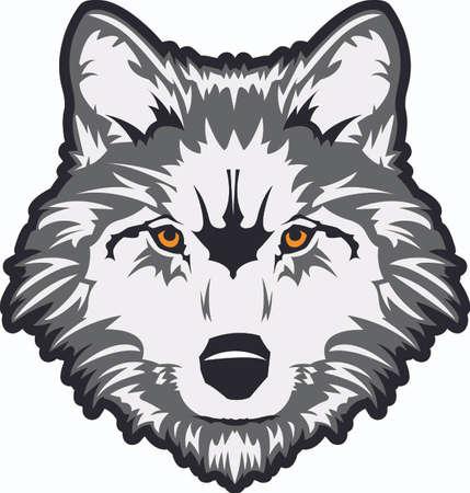 Toon uw teamgeest met dit wolf logo. Iedereen zal het geweldig vinden! Stockfoto - 45195588