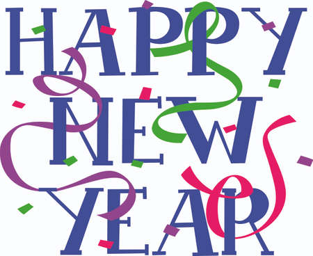 Send holiday cheers with this beautiful Happy New Year sign. Pick those designs by Great Notions!