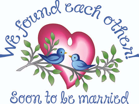 lovebirds: These 2 lovebirds are a perfect gift for an anniversary gift.  Pick those designs from Great Notions!