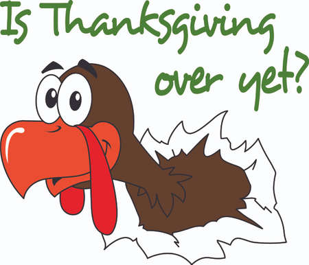 gobbler: The perfect design for your Thanksgiving with a little humor.  Pick these designs from Great Notions.