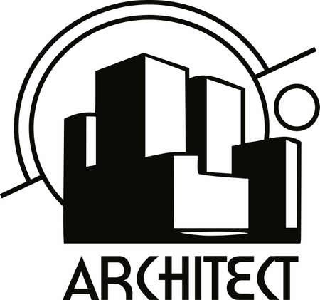 建築会社の完璧なロゴ。 偉大な概念からこのデザインを取得します。