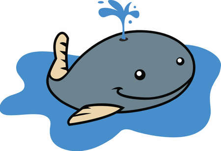 occassion: This adorable little whale is perfect for your classroom.  Include this W for whale when decorating.  The students will love it!