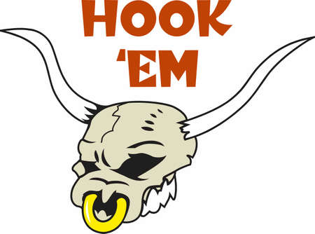 The perfect logo for your team the Longhorn head.  Everyone will love it!