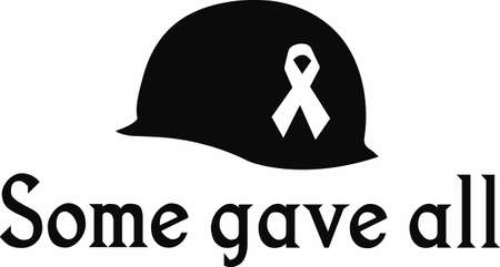 gone: Remember our heros that they maybe gone but they are not forgotten. Illustration