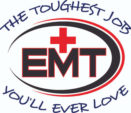 ems: You depend on your local EMT. Show them how much you appreciate them with this design from Great Notions.
