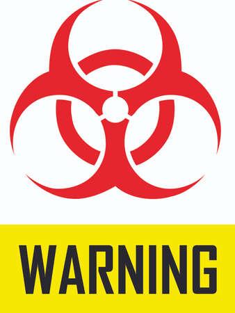 biohazard: Mark a safety hazard with this biohazard symbol.