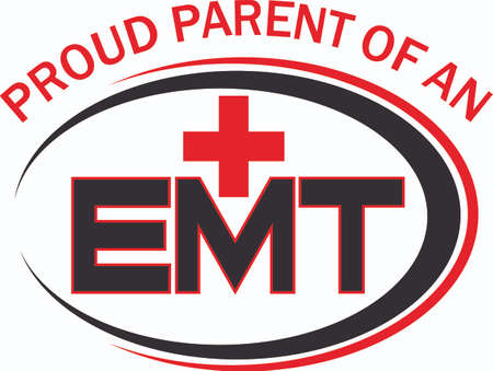 oval shape: You depend on your local EMT. Show them how much you appreciate them with this design from Great Notions.