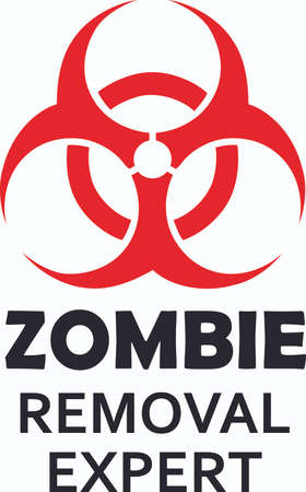 Mark a safety hazard with this biohazard symbol.