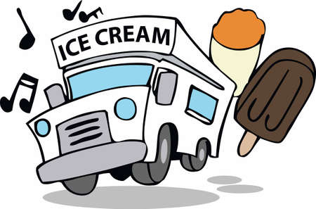 Kids go running when they hear the ice cream truck.
