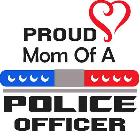 patrolman: Show pride in your profession.