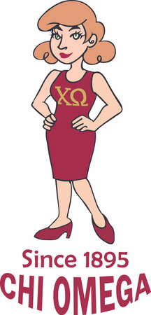 Show your sorority pride with your sisters.