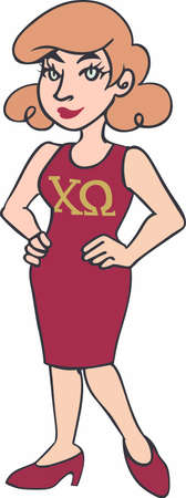 sorority: Show your sorority pride with your sisters.