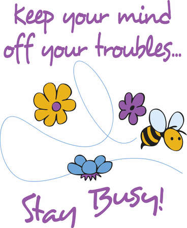 bumble: Decorate with a bumble bee for a spring time decoration.