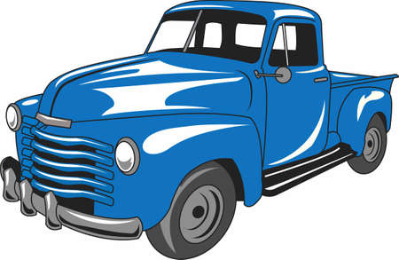 oldie: The car is an American classic.  Take this design to the next car show.  He will love it!
