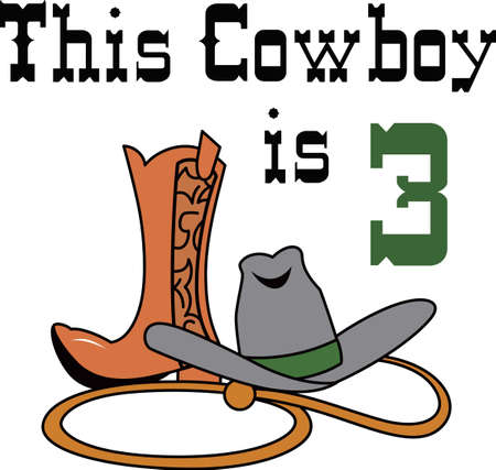 stetson: Make a fun western themed project with a great hat and boot.
