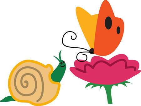gastropod: Pretty spring bugs and flowers make great designs.